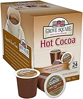 Grove Square Hot Cocoa, Milk Chocolate,12.7 Ounce, 24 Count (Pack of 1)