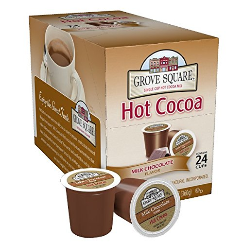 Grove Square Hot Cocoa, Milk Chocolate, 0.52 Ounce (Pack of 24)
