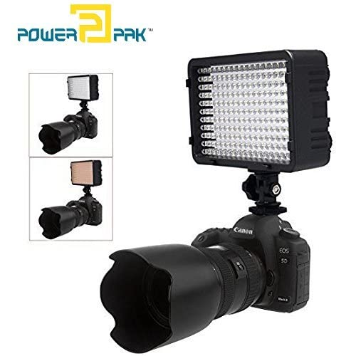 Powerpak Led Light for DSLR Cameras
