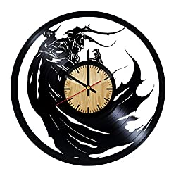 ForLovedGifts Final Fantasy Game Design Vinyl Wall Clock – Handmade Gift for Any Occasion – Unique Birthday, Wedding, Anniversary, Wall décor Ideas for Any Space
