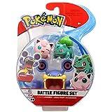 Bizak- Pokemon Pack de 3 Figuras Modelos Aleatorios, Color surtido (63227225)