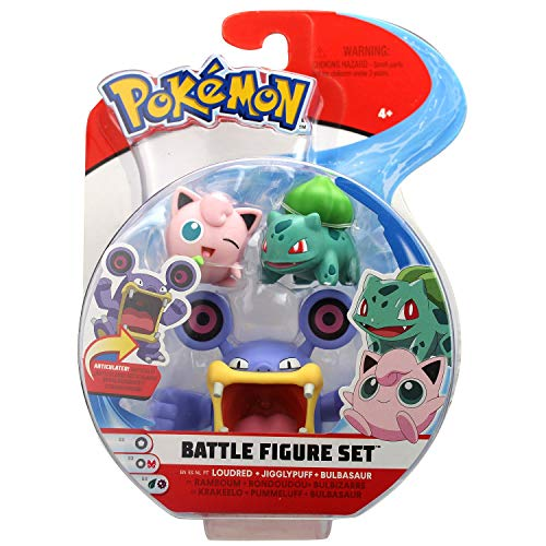 Pokemon Pack de 3 Figuras Modelos Surtidos (BIZAK 63227225)