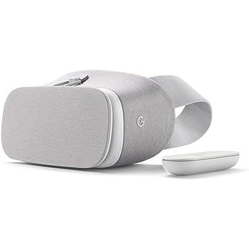 Google Daydream View Headset & Controller for Pixel, XL, Mate 9 Pro, Axon 7, Moto Z - Snow