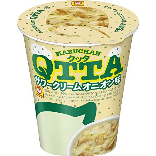 東洋水産 MARUHAN QTTA サワークリームオニオン味 87g×12個