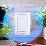 Clarifion - negative ion generator with highest output (1 pack) filterless mobile ionizer & travel air purifier, plug in… 10 for use in: bedrooms, corridors, bathrooms, living rooms, staircases, and other spaces/rooms. Removes bacteria & viruses | reduces allergens | relieves congestion | chemical free | helps reduce asthma | cleaner air eliminates dust, smog, smoke, allergens, pet dander, & bacteria to help keep air fresh & clean | smart design with led indication