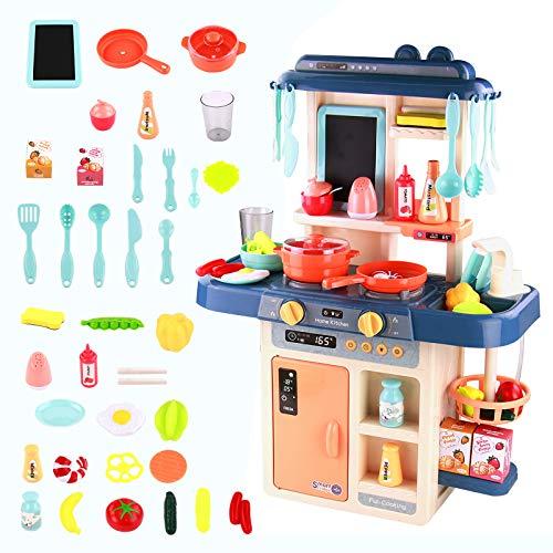 Cocinitas De Juguetes para Niños-Juguetes de Cocina Supermercado De Juguetes Infantil Niña...
