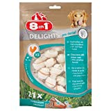 8in1 Delights Pro Dental Kauknochen XS, gesunder Kausnack für sehr kleine Hunde zur Zahnpflege, 21 Stück (252 g)