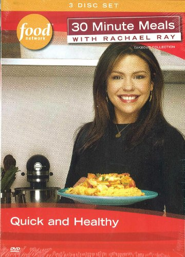 30 Minute Meals with Rachael Ray - Quick and Healthy (3 Disc Box Set)