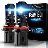 BEAMTECH 9007 LED Bulb, HB5 Halogen...
