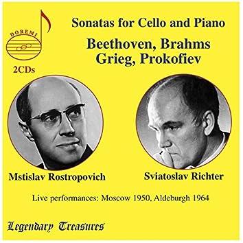 Rostropovich & Richter in Concert: Live in Moscow & Aldeburgh