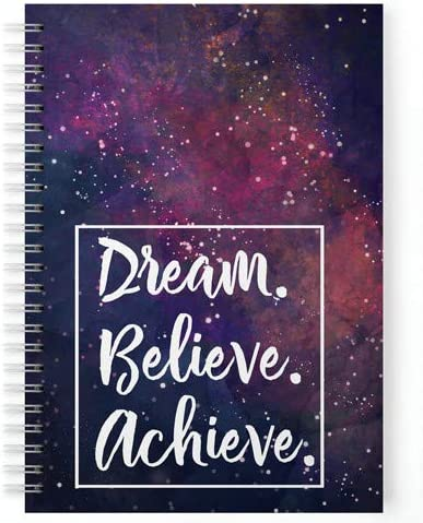 Lauret Blanc Daily Planner and Organizer, to Do List, Affirmation and Gratitude Journal- A5, 80 GSM, 160 Pages. Plan ...
