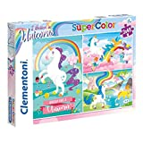 Clementoni- I Believe in Unicorns Conjunto De Puzzles, Multicolor (25231.2)