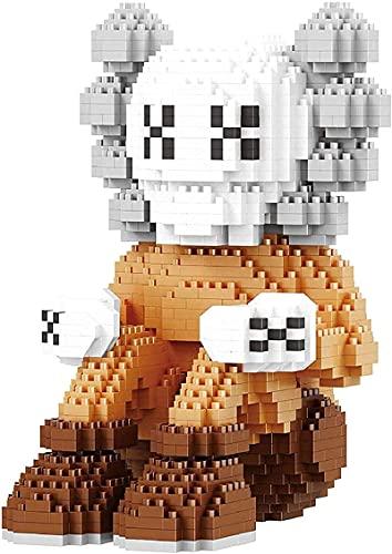 Mini Bloques De Construcción Kits De Construcción KA-WS 3D Puzzle Toys Figure De Acción Modelo De Colección Juguete,A