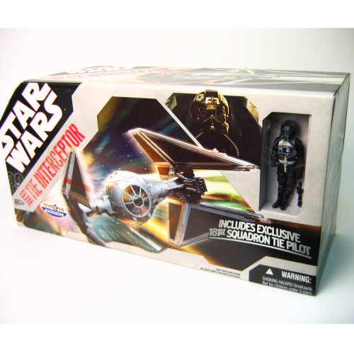 Elite Tie Interceptor & 181 Squadron Tie Fighter Pilot - Star Wars 30th Anniversary Collection von Hasbro