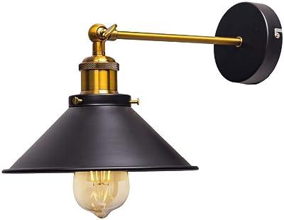 Lampada da parete Valentin 1 bracci BIANCO ANTICATO 29 cm