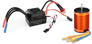 rc car motor and esc combo