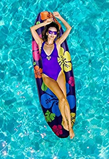 Ideas In Life Inflatable Pool Floats for Adults Funny - Giant Floaties for Adults Huge Pool Floats - Surfboard Pool Floatie