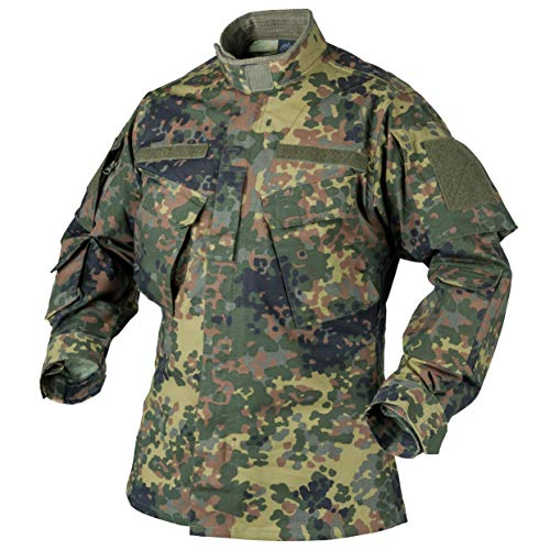 Helikon CPU Shirt Feldhemd Jacke Flecktarn Ripstop Bundeswehr BW Combat Uniform XXLarge Regular