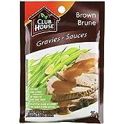 Club House, Dry Sauce/Seasoning/Marinade Mix, Brown Gravy, 25g