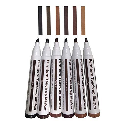 Reparaturstifte Repair Markers Möbelstift BereinigenBodenreparatur Reparieren Scratch Malen Sie ab Komplementärfarbe für Zerkratzte Holzböden Möbel Tische
