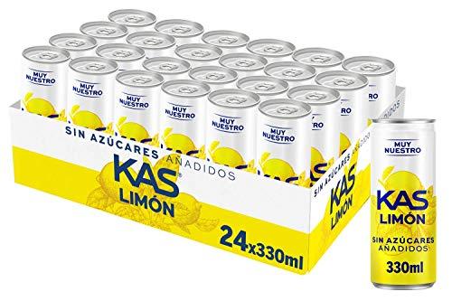 Kas Bebida Refrescante de Zumo de Limón con Edulcorantes, s