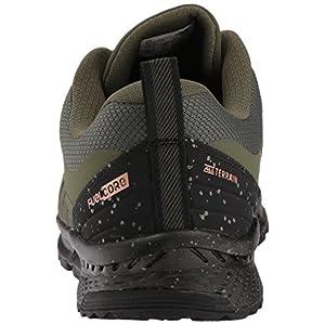 New Balance Men's Nitrel v1 FuelCore Trail Running Shoe, Dark Covert Green, 13 D US
