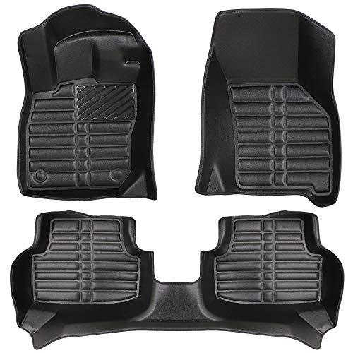 Alfombrillas 3D de Lujo compatibles con Seat Leon (4.Gen) Desde 2020
