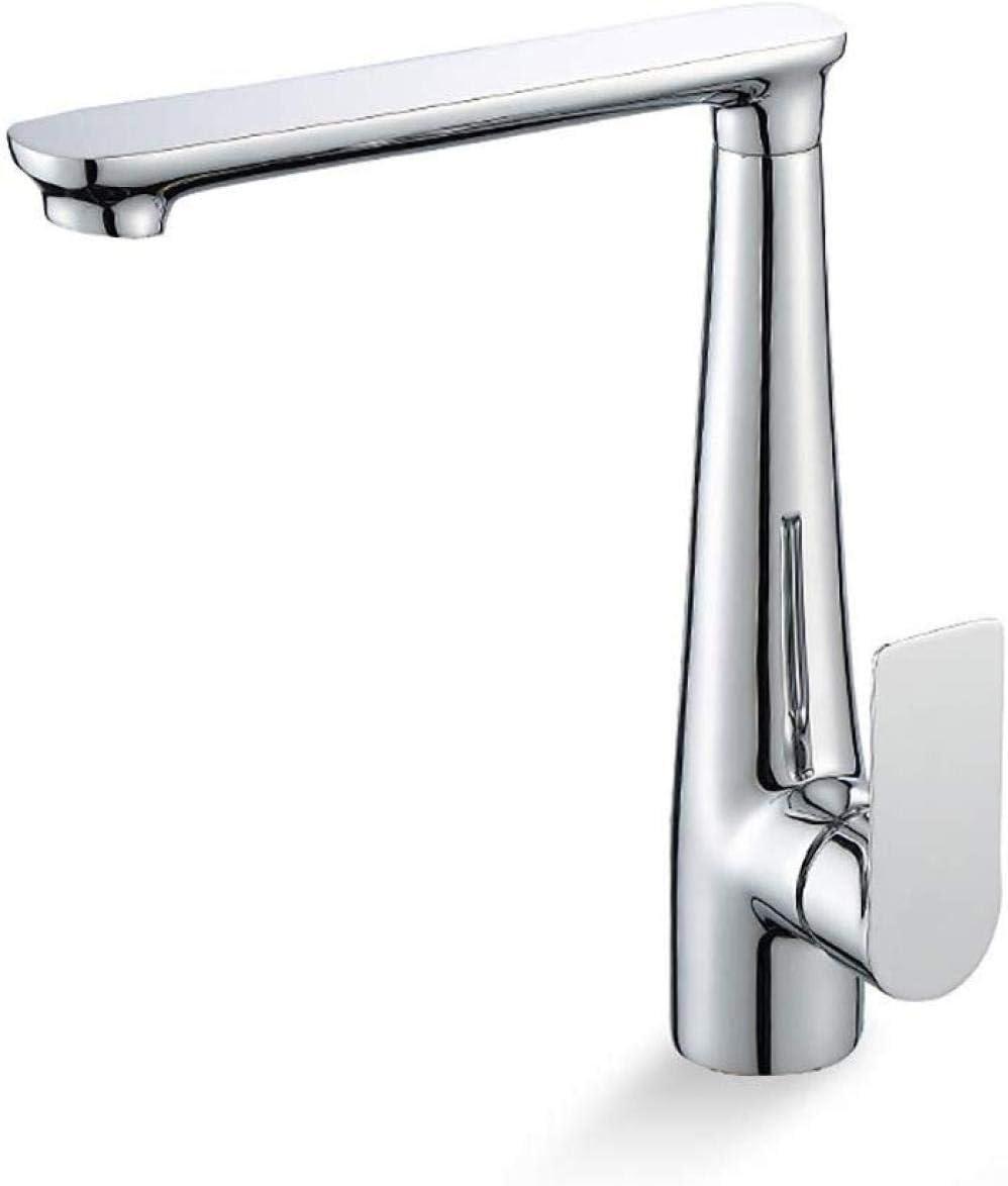 SLT0216 Taps Bathroom Faucet Chrome Fashion Large discharge sale Single Hole Vanit Handle One