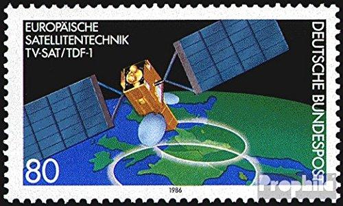 Prophila Collection BRD (BR.Deutschland) 1290 (kompl.Ausgabe) 1986 Satellitentechnik (Briefmarken für Sammler) Weltraum