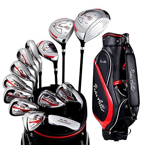 Wujiancheng-apparel Golf Spaner Herren Semi-Set Pole Übung Pole Anfänger Golf Club Set 13 PCS Golf Putter Golf Club Für Männer (Farbe : One Color, Größe : Einheitsgröße)