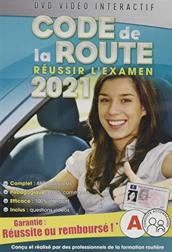Code de la Route 2021, réussir l'examen Officiel [DVD Interactif]