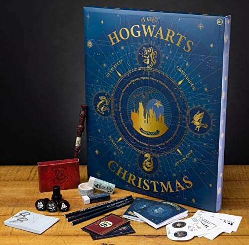 Harry Potter Hogwarts Christmas Advents Calendar 2020 Unisex Adventskalender Standard