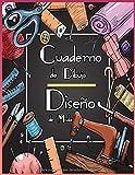 Cuaderno de Dibujo Diseño de Moda: +240 Figuras plantilla de maniquíes para dibujar ropa para diseñadores de moda y estilistas