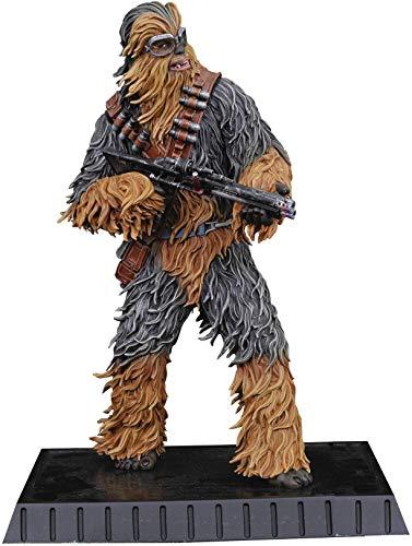 DIAMOND SELECT TOYS Star Wars Milestones: Chewbacca (Solo Version) 1: 6 Scale Resin Statue, Multicolor image