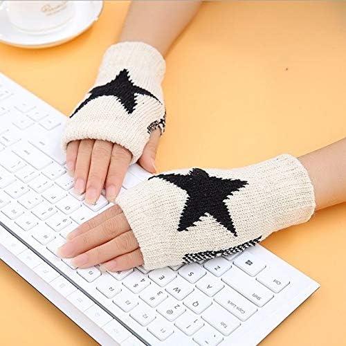 1Pair Spring Women Warmer Women Gloves Winter Fingerless Knit Mittens Button Gloves 2017 New - (Color: 13, Gloves Size: One Size)