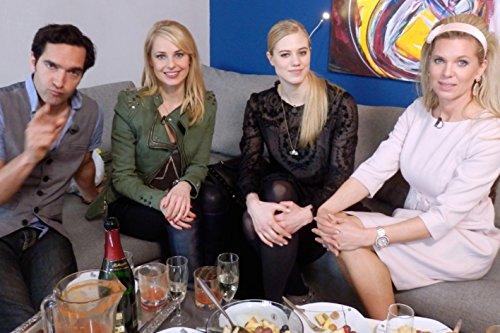 Mit Thomas Held, Silvia Schneider, Maja von Hohenzollern und Larissa Marolt