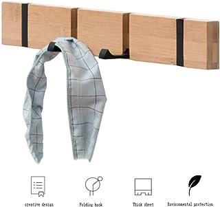 OUHUI Colgador Perchas De Pared Perchero Recibidor Recibidores Modernos Perchero Montado En La Pared Gancho para Toallas,Gancho Liso con Cubierta Retráctil Y Abatible