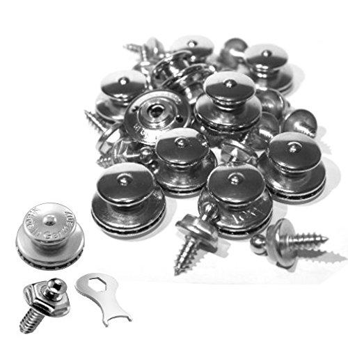 15 x LOXX Druckknopf Schraube Schlüssel Plane Cabrio Boot Persenning Verschluss