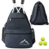 Himal Outdoors Tennis Backpack Tennis Bag,Hold 2 Rackets and Necessities
