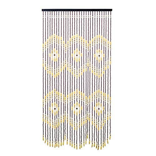 Wood Bamboo High Wooden Beads Doorway Curtain