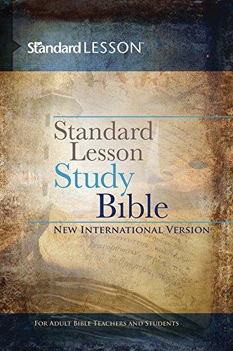 Standard Lesson Study Bible New International Version―Hardcover
