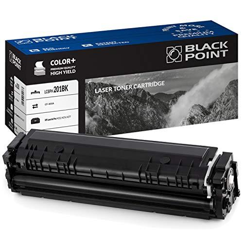 Black Point Cartucho de Tóner para CF400A - Negro - para HP Color Laserjet: M252N Pro M252DW Pro M277DW Pro M277N M274N - Certificado TÜV