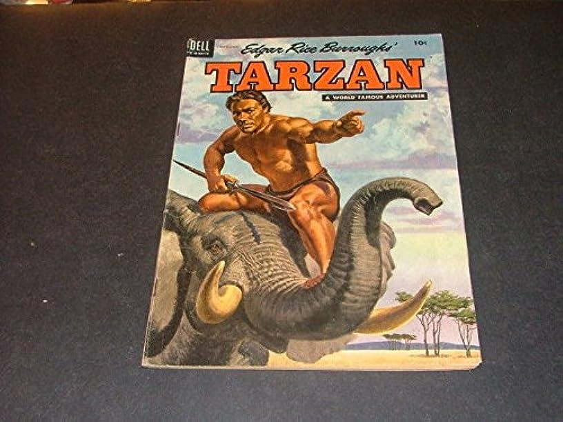 Tarzan #60 September 1954 Golden Age Dell Copy A