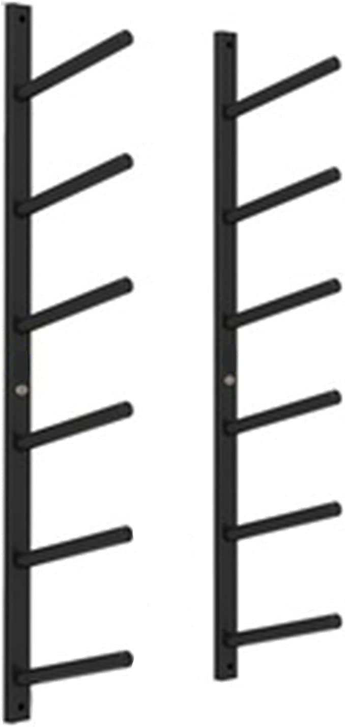Yoga Mat Max 40% OFF Foam Rollers Wall Rack Max 64% OFF for Hooks with Hanging Str