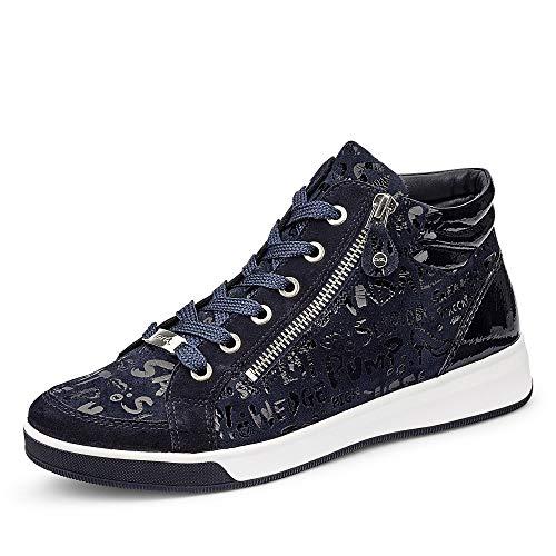ara Damen ROM Hohe Sneaker, Blau, Navy 05), 39 EU(6 UK)