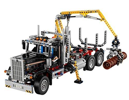 LEGO Technic - Camión de Transporte de Troncos (9397)