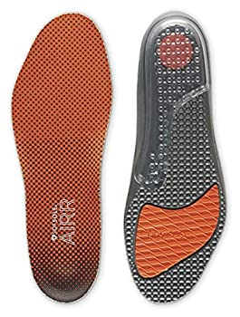 Sof Sole mens Airr Performance Full-length Insole Orange Men s 9-10.5 US