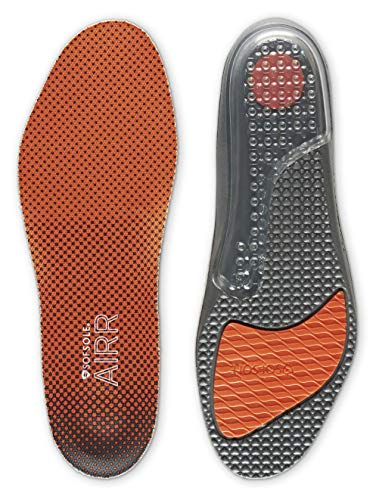 Sof Sole Men's AIRR Performance Full-Length Insole, Orange, Men's...
