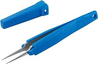 ホーザン(HOZAN) ESDグリップピンセット グリップ付きピンセット 手が痛くなりにくい 保管、先端保護にも P-881-ESD
