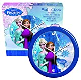 Disney Frozen–fr9-horloge–Einrichtung und Dekoration–Wanduhr Wandtattoo